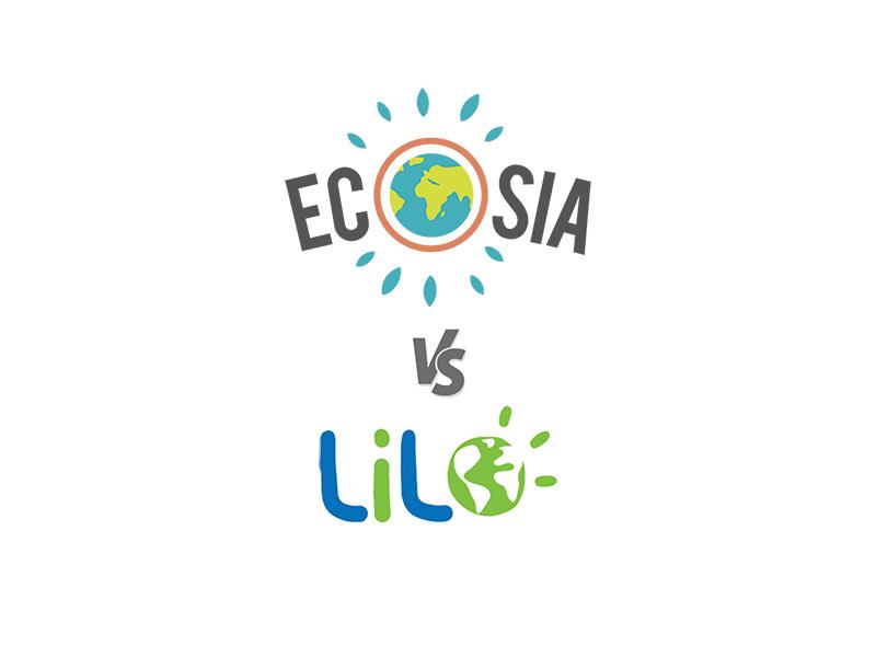 Ecosia vs Lilo
