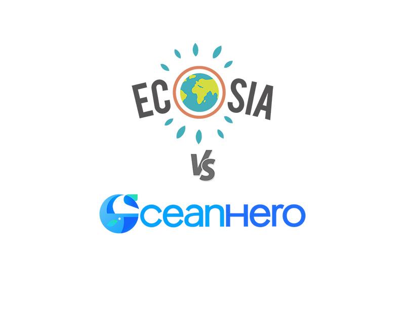 Ecosia vs OceanHero